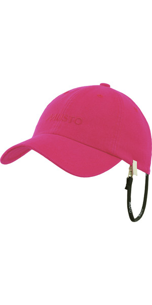 Musto Evolution Self Fabric Peak Cap HOT PINK AE0200
