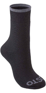 2019 Musto Evolution Thermal Short Socks BLACK AE0300