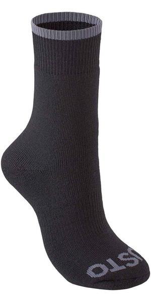 2019 Musto Evolution Thermal Short Socks BLACK AE0300
