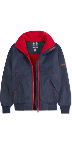 2019 Musto Junior Snug Blouson Jacket True Navy / Red KL30032