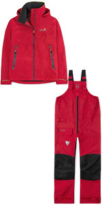 2019 Musto Mens BR1 Inshore Jacket SMJK056 & Trouser SMTR043 Combi Set True Red