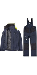 2020 Musto Mens BR2 Coastal Jacket & Trouser Combi Set - Navy