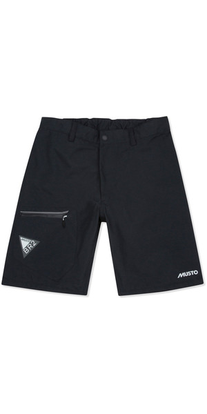 2019 Musto Mens BR2 Race Lite Shorts Black SMST006