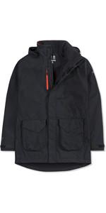 2019 Musto Mens Corsica BR1 Long Jacket Black / Fire Orange SE3570