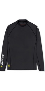 2020 Musto Mens Insignia UV Fast Dry Long Sleeve T-Shirt Black SUTS010