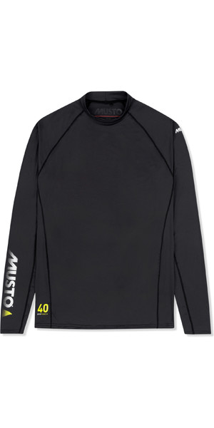 2019 Musto Mens Insignia UV Fast Dry Long Sleeve T-Shirt Black SUTS010