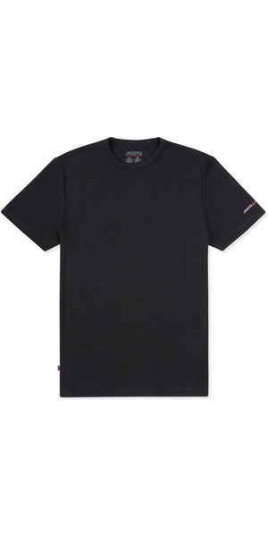 2019 Musto Mens Sunshield Permanent Wicking UPF30 T-Shirt Black EMTS029