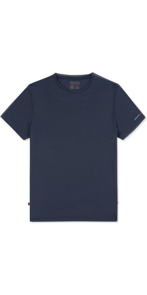 2019 Musto Mens Sunshield Permanent Wicking UPF30 T-Shirt Navy EMTS029