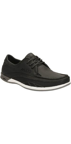 Musto Orson Drift Shoe BLACK LEATHER FS0190/FS0200