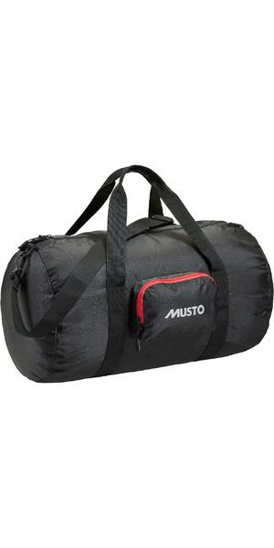 2019 Musto Packaway Holdall Black AUBL042