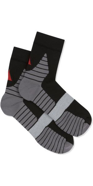 2019 Musto Polygiene Sneaker Sock Black AUSO001