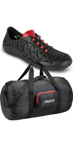 Musto Pro Lite SDL Sailing Shoes & Packaway Holdall Black