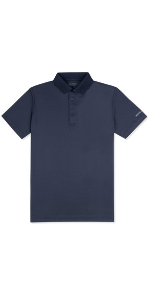 2018 Musto Mens Sunshield Permanent Wicking UPF30 Polo Navy EMPS019