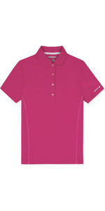 Musto Womens  Evolution Sunblock Polo Magenta EWPS006 WAREHOUSE 2ND