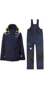 2020 Musto Womens BR1 Inshore Sailing Jacket & BR2 Offshore Trouser Combi Set - True Navy