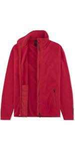 2019 Musto Womens Crew Fleece Jacket Red EWFL028