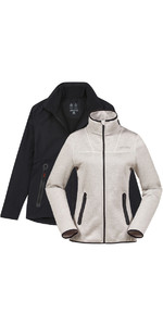 Musto Womens Essential Crew BR1 Jacket BLACK EWJK058 & Apexia Jacket TITANIUM Bundle Offer