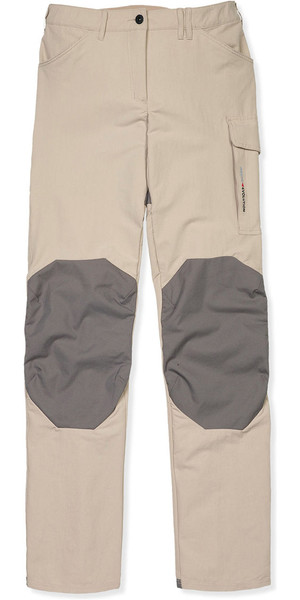2019 Musto Womens Evolution Performance UV Sailing Trousers Light Stone - Regular Leg (86cm) SE0921