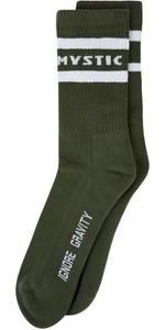 2021 Mystic Brand Socks 35108.210253 - Army