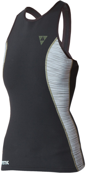 Mystic Diva Ladies 2mm Neoprene Tank Top GREY 160200