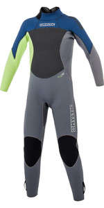 2020 Mystic Junior Star 5/4mm Back Zip Wetsuit Navy 180057