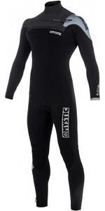 Mystic Majestic Chest Zip Wetsuit 5/3mm BLACK / GREY 180002