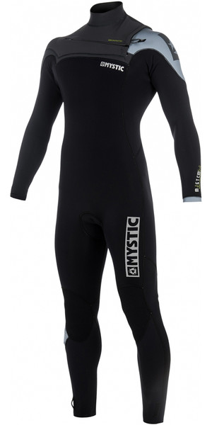 2018 Mystic Majestic Chest Zip Wetsuit 5/3mm BLACK / GREY 180002