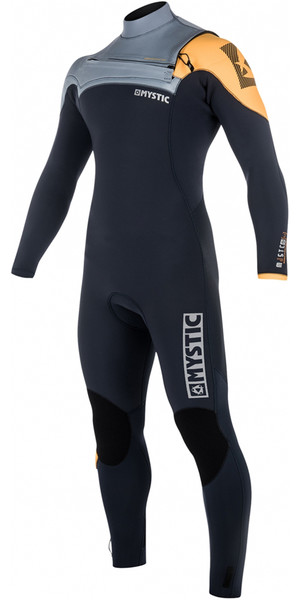 2018 Mystic Majestic Chest Zip Wetsuit 5/3mm ORANGE 180002
