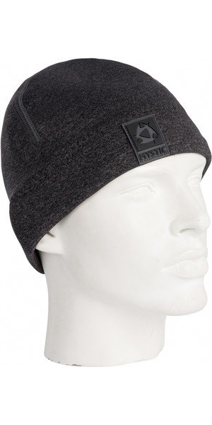 2019 Mystic 2mm Neoprene Beanie BLACK / GREY 180038