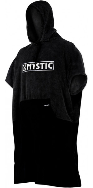 2018 Mystic Poncho Regular BLACK / GREY 180031
