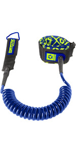 Mystic SUP Coiled Leash 10FT NAVY 160600