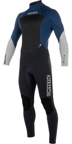 2018 Mystic Star 5/4mm GBS Back Zip Wetsuit NAVY 180018