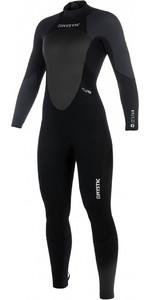 2019 Mystic Women Star 5/4mm Back Zip Wetsuit BLACK / GREY 180029