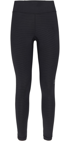 2018 Mystic Womens Ridge Leggings Caviar 190526