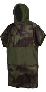 2020 Mystic Allover Poncho / Change Robe 200130 - Brave Green