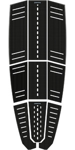 2021 Mystic Ambush Kiteboard Full Deckpad Classic Shape Black 190149