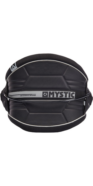 2019 Mystic Arch Flexshell Waist Harness Black 190111