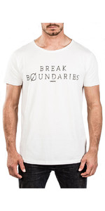 2018 Mystic Boundary Tee Bright White 180049