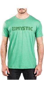 Mystic Brand 2.0 Tee Green Melee 180044