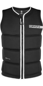 2021 Mystic Brand Front Zip Wake Impact Vest 200183 - Black