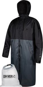 2021 Mystic Deluxe Explore Poncho / Change Robe & Wetsuit Bag - Black