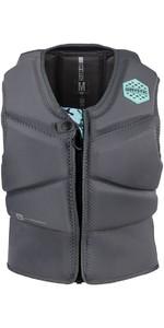 Mystic Diva Womens Front Zip Kite Impact Vest Grey 180089