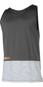 Mystic Drip Loosefit Quick Dry Tank Top Orange / Grey 180103