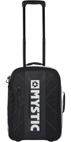 2019 Mystic Flight Bag With Wheels Black 190131