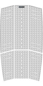 2019 Mystic Guard Kiteboard Mid + Front Deckpad White 190183