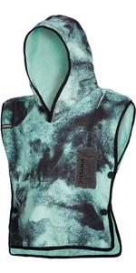 2021 Mystic Kids Poncho / Change Robe 200132 - Black / Mint