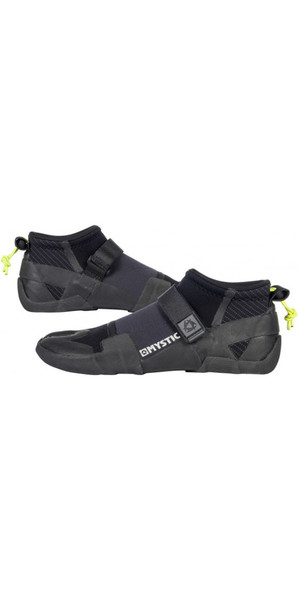 2019 Mystic Lightning 3mm Split Toe Shoe BLACK 180041