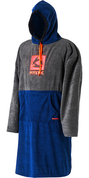 Mystic Long Changing Robe / Poncho in Navy 170800