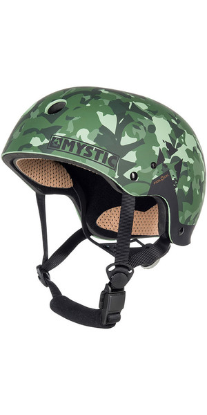 2018 Mystic MK8 X Helmet Green Allover 180160