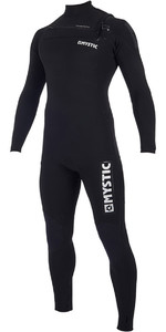 2019 Mystic Majestic 4/3mm Chest Zip Wetsuit Black